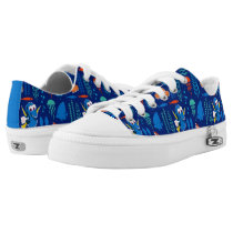 Finding Dory Sea Pattern Low-Top Sneakers