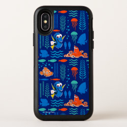 Finding Dory Sea Pattern OtterBox Symmetry iPhone X Case