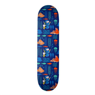 Finding Dory Sea Pattern Skateboard