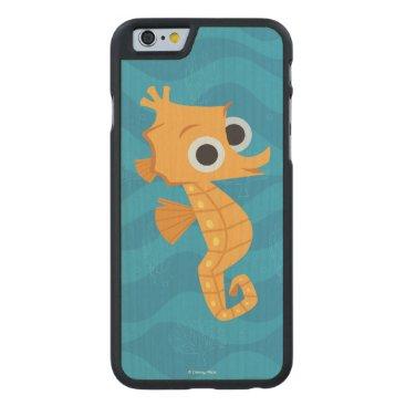 Disney Themed Finding Dory   Sheldon Carved Maple iPhone 6 Slim Case