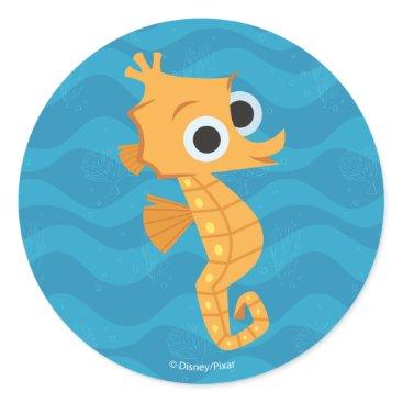 Disney Themed Finding Dory | Sheldon Classic Round Sticker
