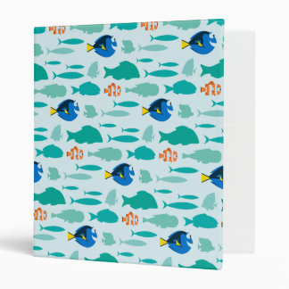 Finding Dory Silhouette Pattern Binder
