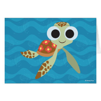 Finding Dory   Squirt Card