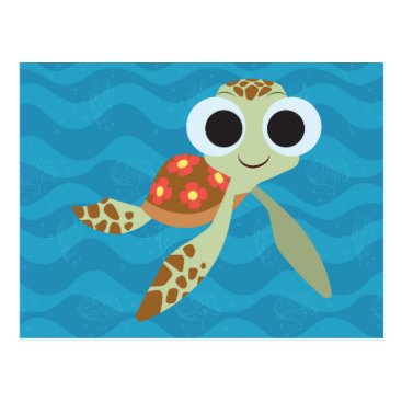 Disney Themed Finding Dory | Squirt Postcard