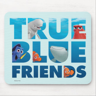 Finding Dory | True Blue Friends Mouse Pad