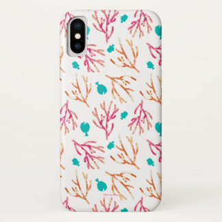 Finding Dory Watercolor Coral Pattern iPhone X Case