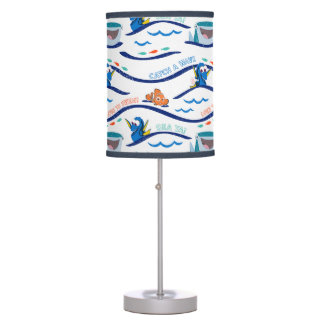 Finding Dory Wave Pattern Table Lamp