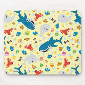 Finding Dory Yellow Pattern Mouse Pad