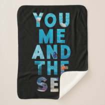 Finding Dory | You Me & the Sea Sherpa Blanket