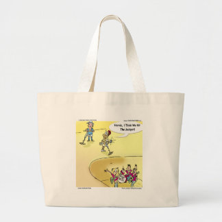 Finding Heavy Metal Funny Gifts Tees & Cards Large Tote Bag