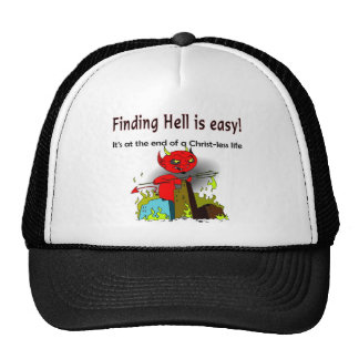 Finding Hell is easy Mesh Hat