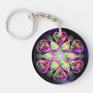 Finding Inner Peace/Mother Love Keychain