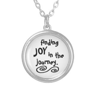 finding joy in the journey necklace