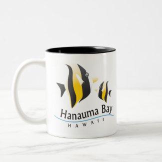 Finding Nemo at Hanauma Bay Hawaii Two-Tone Coffee Mug