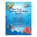 Finding Nemo Birthday Invitation at Zazzle