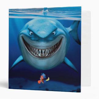 Finding Nemo   Bruce Grinning 3 Ring Binder