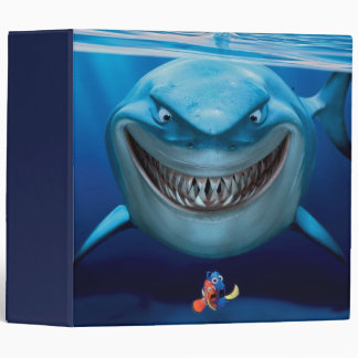 Finding Nemo   Bruce Grinning Binder