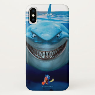 Finding Nemo | Bruce Grinning iPhone X Case