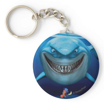 Disney Themed Finding Nemo | Bruce Grinning Keychain