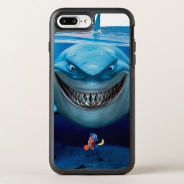 Disney Themed Finding Nemo | Bruce Grinning OtterBox Symmetry iPhone 8 Plus/7 Plus Case