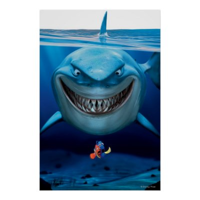 Bruce nemo and dory 1 poster zazzle thecheapjerseys Images