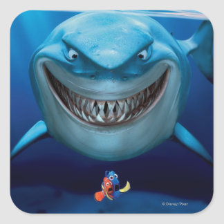 Finding Nemo | Bruce Grinning Square Sticker