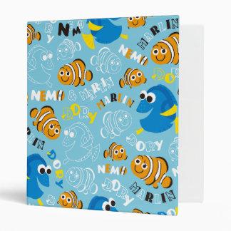 Finding Nemo   Dory and Nemo Pattern 3 Ring Binder