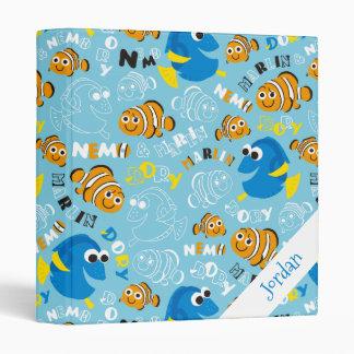 Finding Nemo   Dory and Nemo Pattern Binder