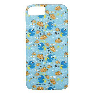 Finding Nemo | Dory and Nemo Pattern iPhone 7 Case