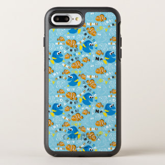 Finding Nemo | Dory and Nemo Pattern OtterBox Symmetry iPhone 7 Plus Case