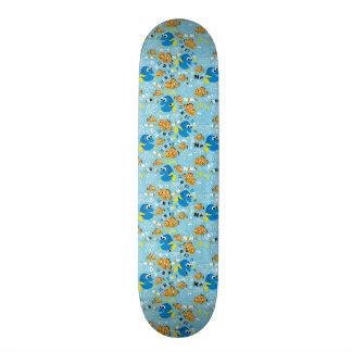 Finding Nemo | Dory and Nemo Pattern Skateboard