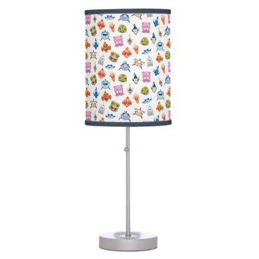 Disney Themed Finding Nemo Emoji Pattern Desk Lamp