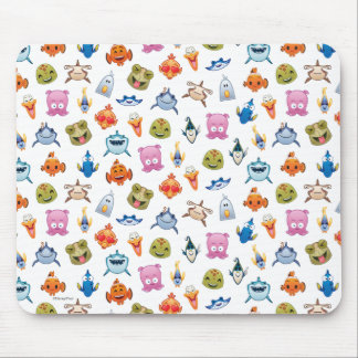 Finding Nemo Emoji Pattern Mouse Pad