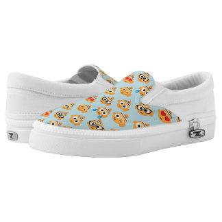 Finding Nemo | Emoji Pattern Slip-On Sneakers