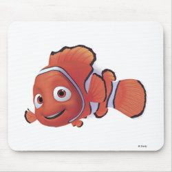 Mousepad with Cute Nemo of Finding Nemo design
