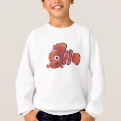 Kids' American Apparel Organic T-Shirt with Cute Nemo of Finding Nemo design