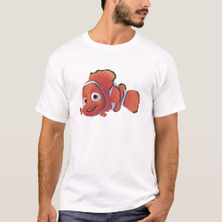 Cute Nemo of Finding Nemo Men's Basic T-Shirt