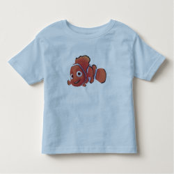 Toddler Fine Jersey T-Shirt with Cute Nemo of Finding Nemo design