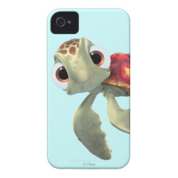 Case-Mate iPhone 4 Barely There Universal Case with Cute baby sea turtle Squirt of Finding Nemo design