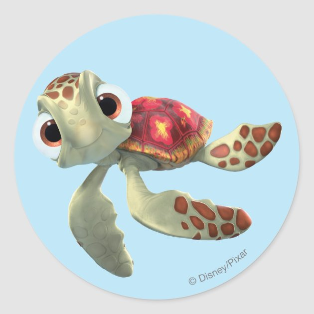 Disney FINDING NEMO Scrapbook Stickers 3 Sheets Crush Dory Squirt Marlin