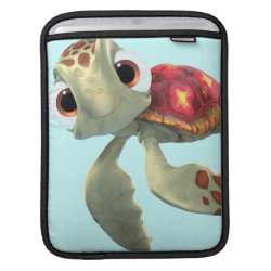 Cute baby sea turtle Squirt of Finding Nemo iPad Sleeve