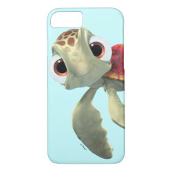Case-Mate Barely There iPhone 7 Case with Cute baby sea turtle Squirt of Finding Nemo design