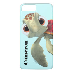 Case-Mate Tough iPhone 7 Plus Case with Cute baby sea turtle Squirt of Finding Nemo design