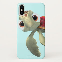 Case-Mate Barely There iPhone X Case with Cute baby sea turtle Squirt of Finding Nemo design