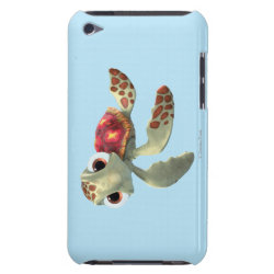 Case-Mate iPod Touch Barely There Case with Cute baby sea turtle Squirt of Finding Nemo design