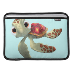 Macbook Air Sleeve with Cute baby sea turtle Squirt of Finding Nemo design