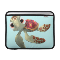 Cute baby sea turtle Squirt of Finding Nemo Macbook Air Sleeve