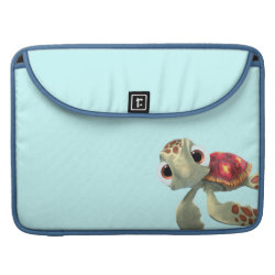 Macbook Pro 15' Flap Sleeve with Cute baby sea turtle Squirt of Finding Nemo design