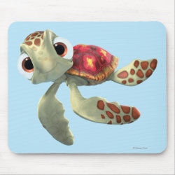 Cute baby sea turtle Squirt of Finding Nemo Mousepad