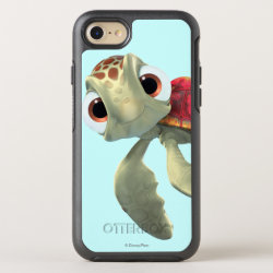 Cute baby sea turtle Squirt of Finding Nemo OtterBox Apple iPhone 7 Symmetry Case